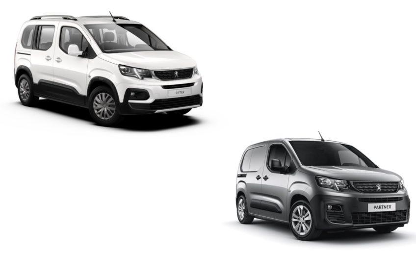 Peugeot Partner i Rifter z wadliwym pasem bezpieczeństwa