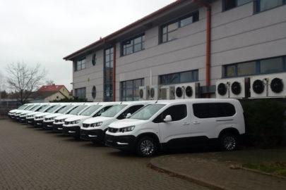 Peugeoty Partnery dla GITD – 11 kombivanów do obsługi fotoradarów