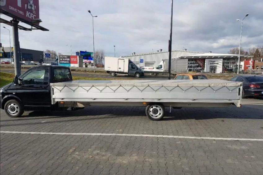 Volkswagen T5 z 6-metrową skrzynią i z 3500 kg DMC na otomoto.pl