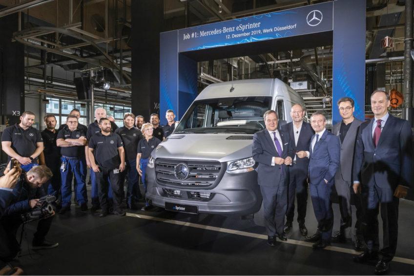 eSprinter seryjnie produkowany w fabryce Mercedes-Benz Düsseldorf