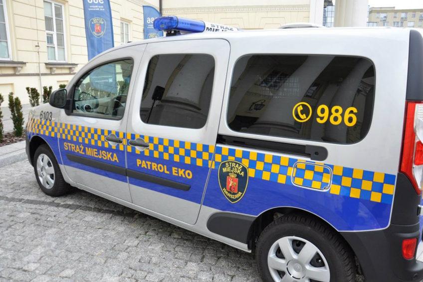 Elektryczne Renault Kangoo Z.E dla warszawskiej Straży Miejskiej