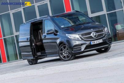 Test: Mercedes-Benz V300d 4MATIC – S-klasa w busie (wideo, zdjęcia)