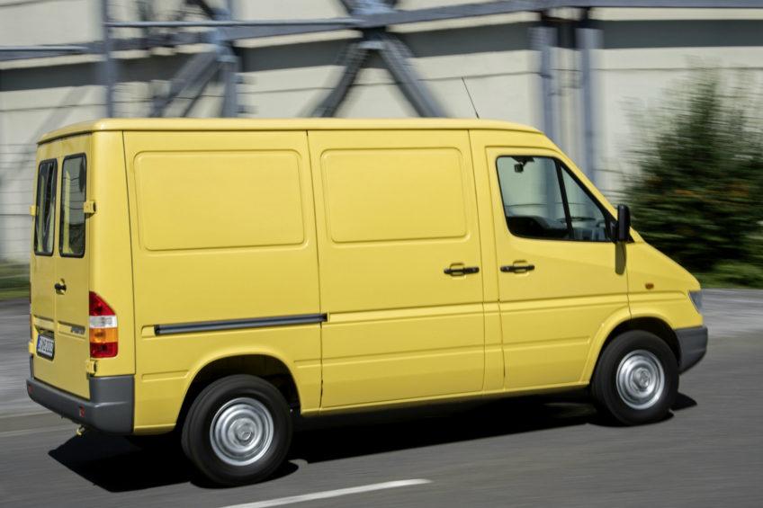Mercedes Sprinter z milionem kilometrów – na liczniku 570 000 mniej