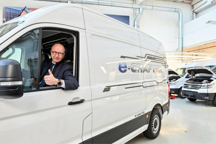 420 sztuk VW e-Craftera dla francuskiej firmy Chronopost