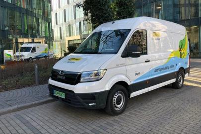 Elektryczny MAN TGE dla No Limit – furgony dla Warszawy i Śląska