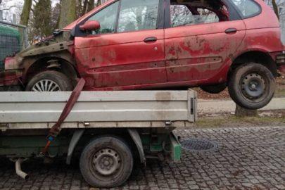 Fiat Ducato bez badań technicznych a ładunek bez oznakowania