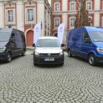Miasto Poznań testuje Volkswageny e-Craftery i Caddy na CNG