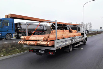 Na wadze wyszło 7200 kg – Iveco Daily zatrzymane pod Opolem