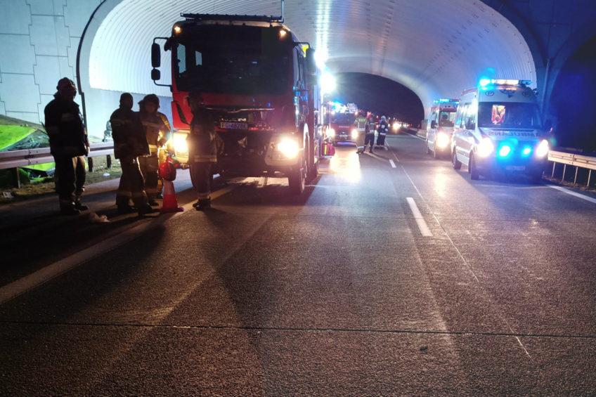 Wypadek Renault Trafic na autostradzie A2 – nowe ustalenia