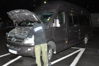 Dwa Mercedesy Sprintery zatrzymano jednego dnia w Korczowej