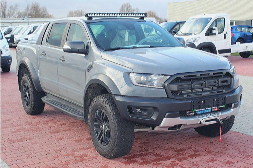 Ford Ranger Raptor zmodyfikowany przez firmę Auto Galeria