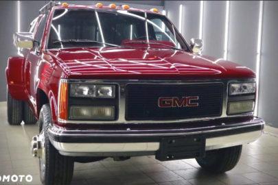 GMC Sierra na bliźniakach z 3500 kg DMC – pod maską V8 i 522 Nm