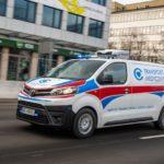 Toyota PROACE z zabudową Carpol dla Centrum Zdrowia Dziecka