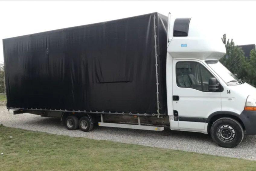 Renault Master z aluminiową ramą i osią tandemową na olx.pl