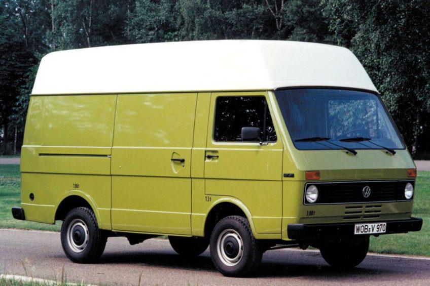 Volkswagen LT skończył 45 lat – historia I generacji