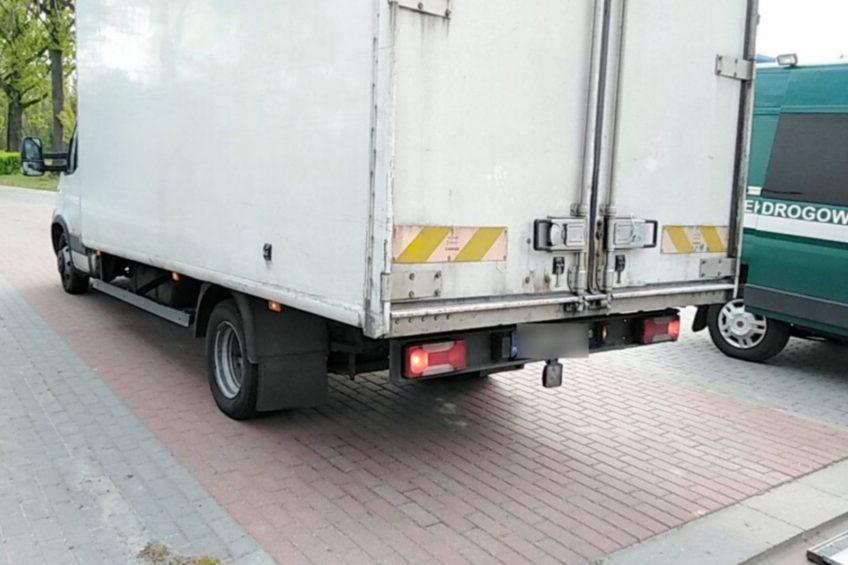 Iveco Daily ważyło 11 ton. Kierowca z najwyższym mandatem