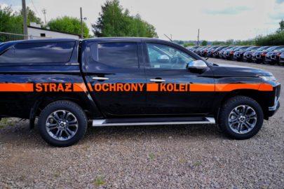 Mitsubishi L200 dla PKP – 130 pick-upów trafi do Straży Ochrony Kolei
