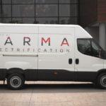 Napęd Karma Automotive dla vanów – 322 kilometry na prądzie