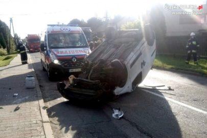 Pijana kierująca Fiatem Fiorino potrąciła rowerzystkę