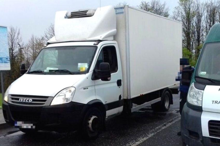 Rumuńskie Iveco Daily ważyło 10 ton – kierowca dostał 1000 zł kary