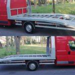Ćwierć furgon i półlaweta – do kupienia jest nietuzinkowy Fiat Ducato