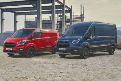 Transit Trail i Transit Custom Active – nowe wersje vanów Forda