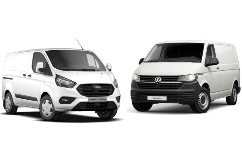 VII generacja VW Transportera bliźniakiem Forda Transita Customa