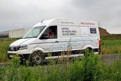 MAN eTGE testowany na Śląsku przez GEFCO Polska