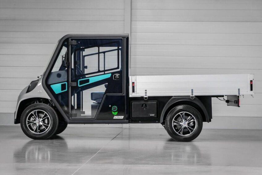 Melex N. TRUCK – nowy elektryczny model ma 2 tony ładowności