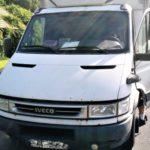 Przeciążone o 3 tony Iveco Daily – kierowca miał prawie 0,5 promila