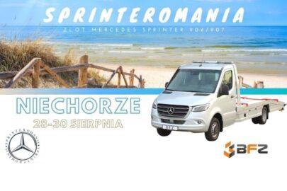 Sprinteromania – I zlot Mercedesów Sprinterów 906 i 907 w Niechorzu