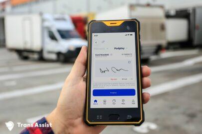 Trans Assist – aplikacja z eCMR i nawigacją na ekspresy po EU