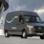 Amazon zamówił 1800 elektrycznych Mercedesów eVito i eSprinter