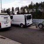 Opel Vivaro bez przeglądu a przyczepa na innych tablicach