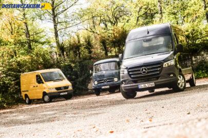 Test: klasyczne vany Mercedesa kontra Sprinter 2020 (wideo, zdjęcia)