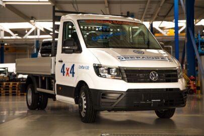 VW Crafter ze stałym napędem 4×4 Oberaigner – cena 9500 € netto