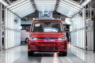 W Poznaniu rozpoczęła się produkcja VW Caddy 5