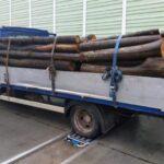 Zatrzymane na S7 Renault Mascott ważyło ponad 7 ton