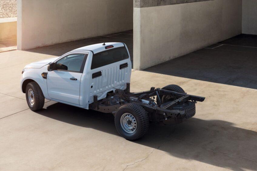 Ford Ranger jako podwozie do zabudowy od stycznia 2021