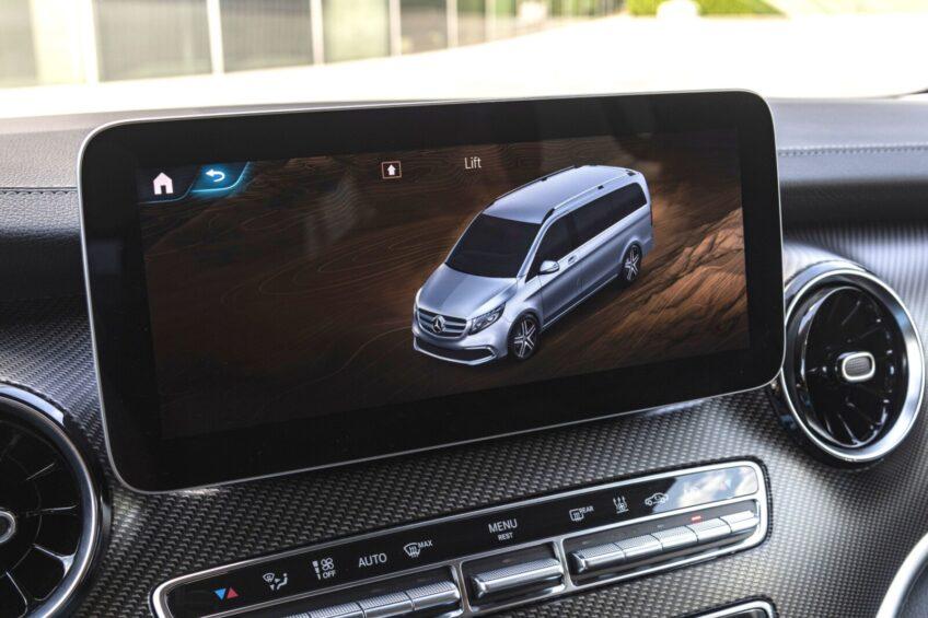 Mercedes-Benz V-klasa z zawieszeniem AIRMATIC