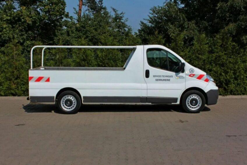Renault Trafic jako pick-up do kupienia na otomoto