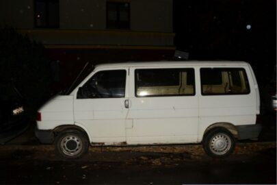 Wrocław: 27-latek ukradł 27-letniego VW Transportera