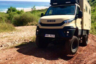 Wyprawowe Iveco Daily 4×4 po 35 000 km przebiegu