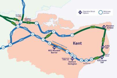 Busy i ciężarówki zaczną wyjeżdżać z Wielkiej Brytanii od środy 23 XII