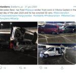 Były pracownik Mercedesa zniszczył 50 sztuk V-klasy i Vito