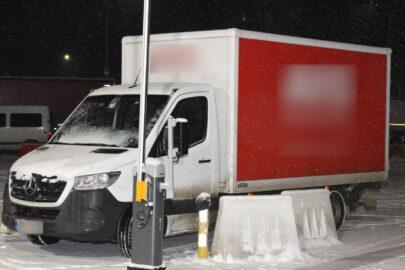 Kradziony Mercedes Sprinter odnalazł się w Korczowej