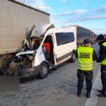 Pasażer Transita zmarł a kierowca ranny – brak korytarza życia na A4