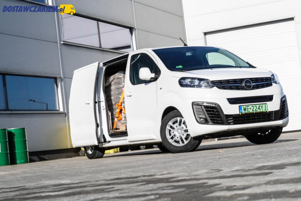 Opel Vivaro-e test opinie zasięg dane techniczne ładowność