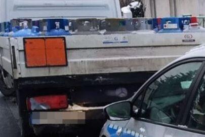 Przewożący Mercedesem Sprinterem ładunek ADR miał 3 promile