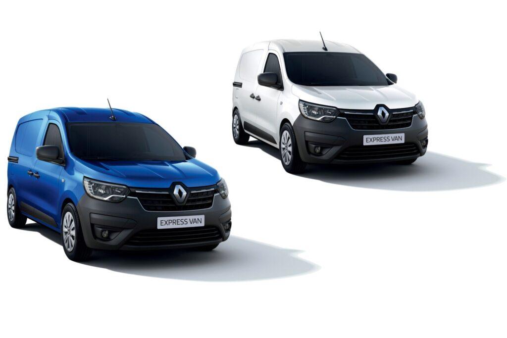 Renault Express Van - gama silnikowa i dane techniczne